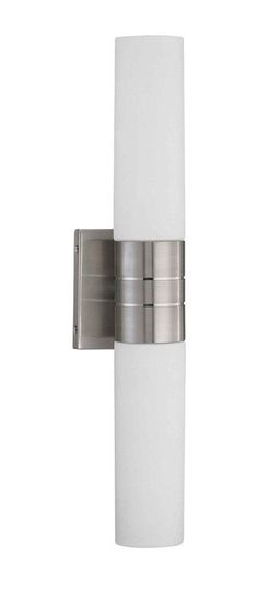 """Buy the Nuvo Lighting 60/2936 Brushed Nickel Direct. Shop for the Nuvo Lighting 60/2936 Brushed Nickel Two Light Up / Down Lighting 4.5"""" Wide Bathroom Fixture from the Link Collection and save."""