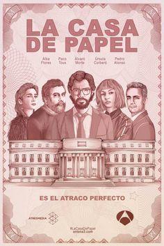 Análise / Crítica / Resenha da série espanhola La Casa de Papel, venha conferir no Blog Meta Galáxia
