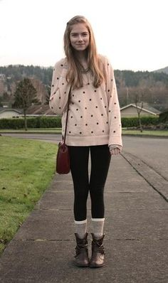 pretty hair polka dot sweater   CLICK THIS PIN if you want to learn how you can EARN MONEY while surfing on Pinterest