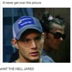 Jared is there something you'd like to talk about? XD