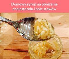 Domowy syrop na obniżenie cholesterolu i bóle stawów