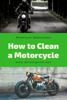 The maintenance of a motorcycle doesn't stop at a regular engine conditioning or tire check. It doesn't stop at just polishing to make sure your motorcycle parts give that eye-catching shine. Motorcycle Cleaner, Old Motorcycles, Biker Chick, Cleaning Hacks, Beats, Something To Do, Vehicles, People, Car