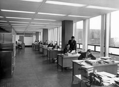 Co-operative workers in the 1960s   Flickr - Photo Sharing!
