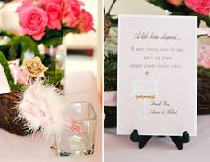 adorable way to have guests suggest a name for the sweet babe