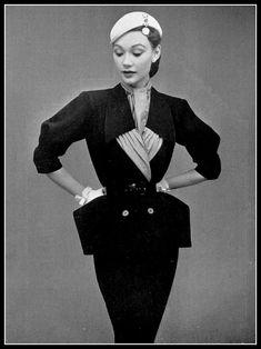 Sophie Malgat, early 1950s