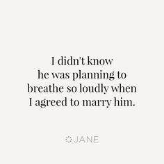 Marriage is full of surprises.