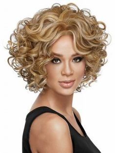 blonde curly bob hairstyles - Google Search