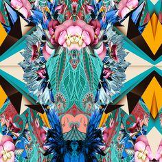 floral geo mix! Dashstudio.com.br