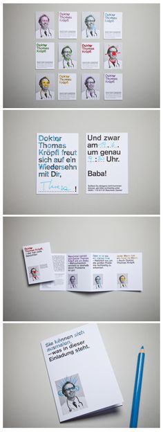 Nobody will fear this children's doctor. We developed the branding together with Verena Panholzer.