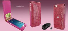 FUNDA iPHONE 6/6S PLUS CLASSIC MAGNET COCODRILO. +Colores