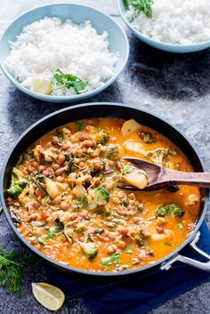 Hearty and delicious vegan curry.