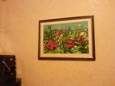 """""""Coccinelle"""" Pennarelli Stabilo 88 e Watercolors Wisor & Newton su cartoncino Bristol"""