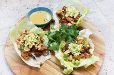 Healthy Chicken San Choy Bow