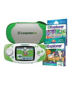 $59 - Loving this Boys LeapsterGS Set on #sponsored http://www.zulily.com/?SSAID=930758tid=acceleration_930758 #convann2