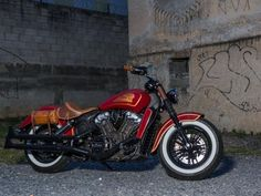 Motos Custom - Motos Customizadas - MOTO.com.br Celio Dobrucki customiza a clássica Indian Scout
