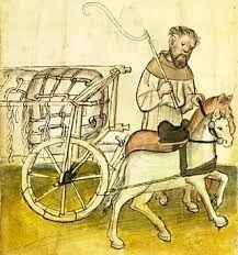 Image result for medieval wheeled transport