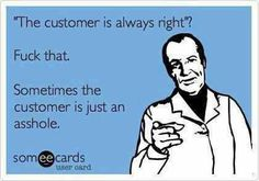 "I deal with ""Card Members"" not customers... and daily I'm reminded that Member is a euphemism for DICK. So. Fitting."