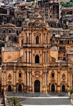 Modica - San Giorgio cathedral, Sicily