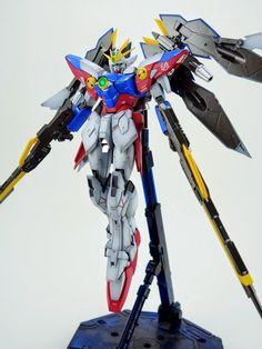 MG 1/100 Wing Gundam Proto Zero Painted Build - Gundam Kits Collection News and Reviews