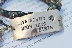 Live Gently by Jennifer Hanson on Etsy