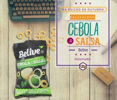 Snack de Cebola e Salsa - Belive