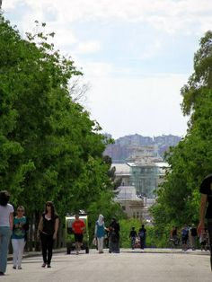 Retiro Park - Madrid Spain