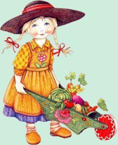 My Amy Jill next Spring!!!  Karen loves Mary Engelbreit.......