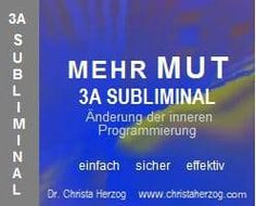 Mehr Mut 3A Subliminal | Ziele Weather, Be You Bravely, Inner Strength, Determination, Setting Goals, Self Confidence, Grief