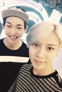 Taemin looks so cute and Onew smile is life