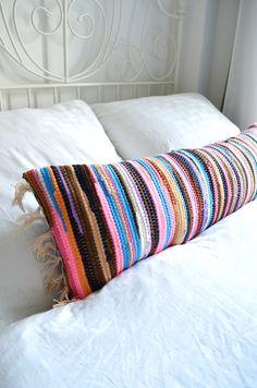 Make it boho : DIY - Teppich wird Kissen