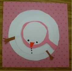 different view of snowman