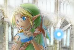 The Legend of Zelda: Ocarina of Time, Young Link and Navi /