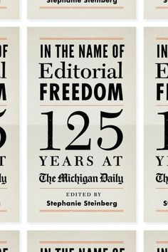 In the Name of Editorial Freedom design Isaac Tobin