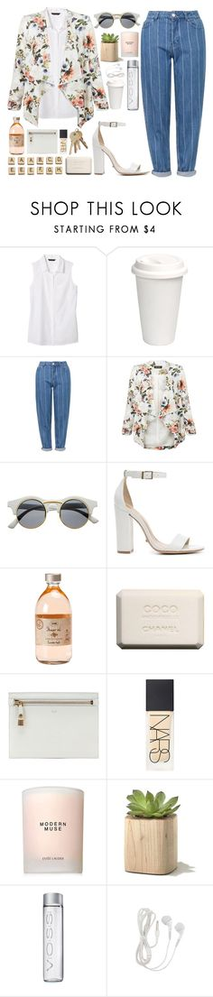 """""""hey mister, she's my sister // #124"""" by jar-of-hearts-xx ❤ liked on Polyvore featuring Banana Republic, Topshop, New Look, Retrò, Schutz, Hasbro, Chanel, Tom Ford, NARS Cosmetics and Estée Lauder"""