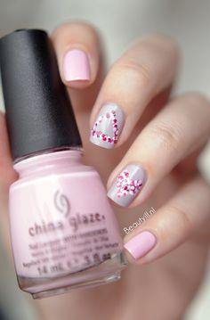 VALENTINE  ~ Beautyill #nail #nails #nailart