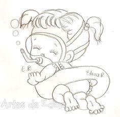 bebezinha nadadorora