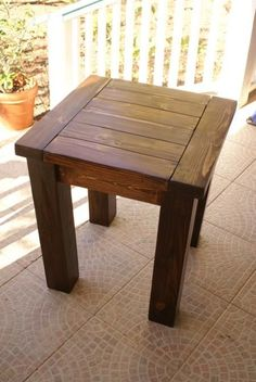 First Tryde Side Table Do It Yourself Home Projects From Ana White
