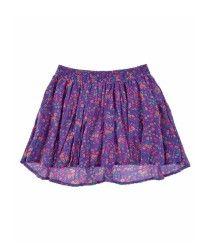 5207418-Azul-18-3944 Short Niña, Tie Dye Skirt, Shorts, Fashion, Little Girl Clothing, Skirts, Blue, Moda, Fashion Styles