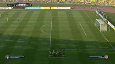 HIT Brazylia vs FC Barcelona Piękny gol  Roberto Firmino
