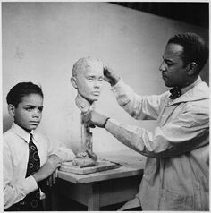 Richmond Barthe was born (January 28, 1901), a sculptor who was ahead of his time. A part of the Harlem Renaissance in the 1930's, his work went largely unappreciated due to his sexual orientation. Black Then | Today In Black History On January 28th