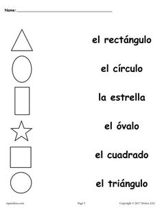 Printable worksheet with answer key. Students color or