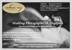 Wedding Photographer in Singapore