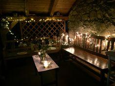 Autumn decor, lights