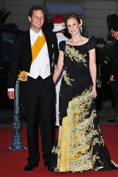 Prince Georg Friedrich of Prussia and Princess Sophie Johanna Maria of Isenburg.