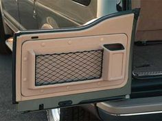 2004 Ford Excursion Rear Door Cargo Storage Bins