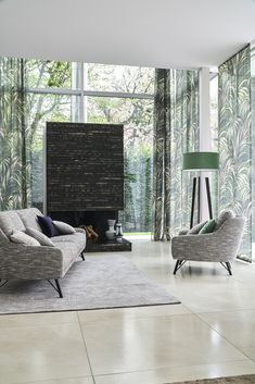 JAB Living Room, Space, Fabric, Shades Blinds, February, Home, Nice Asses, Floor Space, Tejido