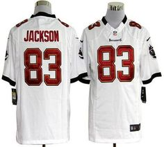 f83cc5d07 Nike Buccaneers  83 Vincent Jackson White Men s Stitched NFL Game Jersey  Nick Mangold