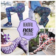 NEW signature styles have launched and on their way! These are exclusive, in-house designed SweetLegs that are made in our highest quality, and in our new signature sizes and fit. You can't find these anywhere else! Prepare to be blown away! Follow link in profile. Clockwise from top left: Pandora, Alora's Garden, Creamsicle and Purple Rain #sweetlegsbarrie #sweetlegs #signature #barrie #ontario #leggings #fashion #new Linked In Profile, Purple Rain, Signature Style, Leggings Fashion, Ontario, Pandora, Product Launch, Legs, Sweet