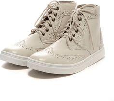 wingtip sneaker / ShopStyle: E hyphen world galleryメダリオンスニーカー / ブーツ