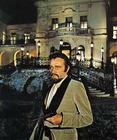 "Richard Burton en ""Barba Azul"" (Bluebeard), 1972"